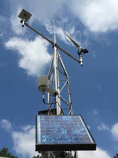 Figure 16. PTF weather station unit.