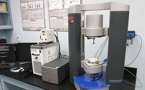 Figure 5. Photograph. Dynamic Shear Rheometer.