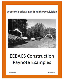 EEBACS Construction Paynote Examples