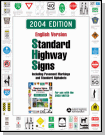 An image of a cover for a standard highway signs book.