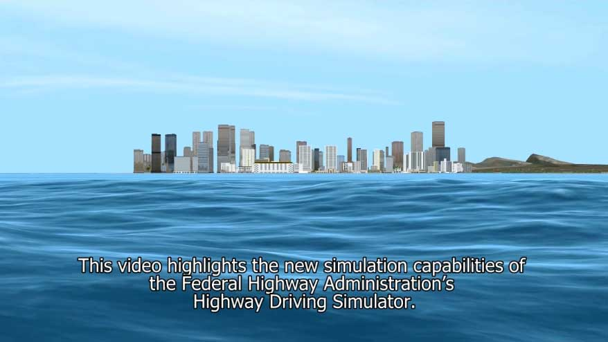 This video shows a virtual drive along Kalakaua Avenue in the Waikiki Beach area of Honolulu, Hawaii. Team members used information available from Hawaii Department of Transportation, and commercial, off-the-shelf software to effectively replicate a driving scenario.