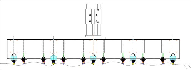 Figure 20. Image. A schematic of the pneumatic acoustic array.