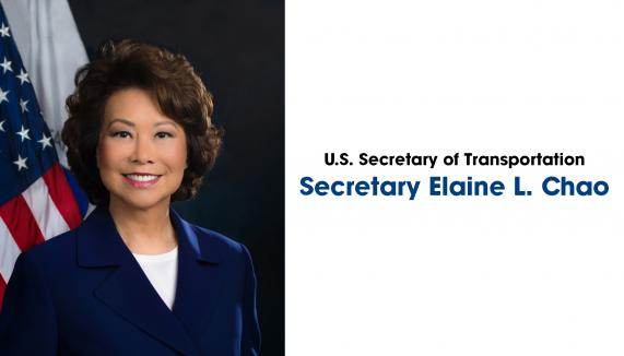 Photo of Secretary Elaine L. Chao - U.S. Secretary of Transportation