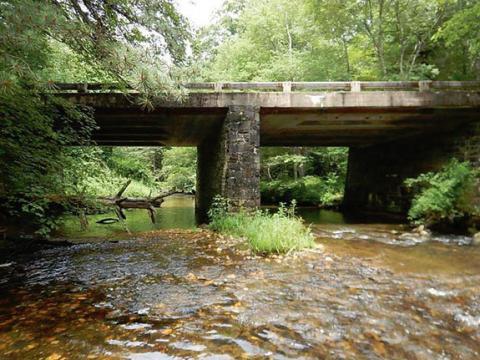 Big Pine Creek Bridge 6, Big Pine Creek Bridge 3, and ...